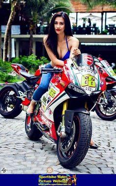 Women- Ducati  1199/1299 Panigale Sportbike - Ducati 1199/1299 Panigale - ID: 660668