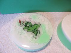 grinch soap and tutorial