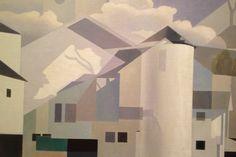 "Charles Sheeler (1883-1965), ""Shadows and Substance"" - Norton Museum of Art ~ West Palm Beach, Florida, USA"