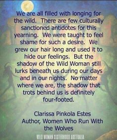 Clarissa Pinkola Estes Women Who Run with the Wolves