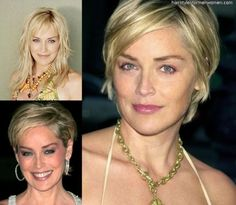 Sharon Stone Hairstyles Short - Free Download Sharon Stone Hairstyles Short #13016 With Resolution 689x600 Pixel | KookHair.com