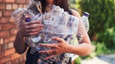 The rules on recycling plastic bottle caps are different than they used to be. Here's how to recycle plastic bottles and caps effectively. Recycling Plant, Recycling Bins, Recycling Ideas, Plastic Bottle Caps, Recycle Plastic Bottles, Flatten Bottles, Recycling Facility, Ways To Recycle, Reuse