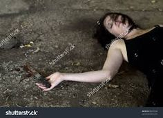 Image result for bloody handcuffs and knives found in a crime scenes