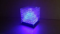 Picture of JolliCube - an 8x8x8 LED Cube (SPI)