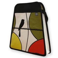 """Bolso Araura realizado a mano y en materiales reciclados Sobaquero """"Verdi"""" / Araura recycled and handmade bag """"Verdi"""" (Pieza única / Unique piece) -- Precio/Price: 47,90 €"""