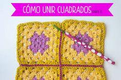 Resultado de imagen para saco hecho con cuadritos en crochet