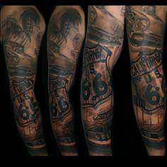 Tattoo in Progress by Laura Juan