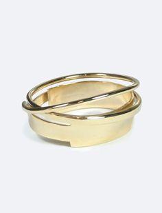 Macha Velocette Cuff Gold