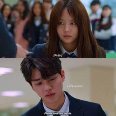 """ Please love me again "" 😭😭😭😭 Love alarm Korean Drama Romance, Korean Drama Quotes, Korean Drama Best, Korean Drama Movies, Korean Actors, Song Kang Ho, Sung Kang, Love Me Again, My Love"
