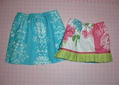Tea Towel skirt tutorial