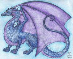 Ruined dragon by Scellanis.deviantart.com on @deviantART
