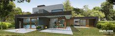 Compact wonen, ruim uitzicht, met verdieping. 175 m²/570 m³. 55 m² aan terras.
