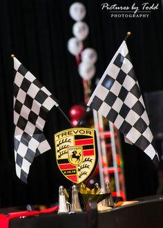 Race Car themed Bar Mitzvah