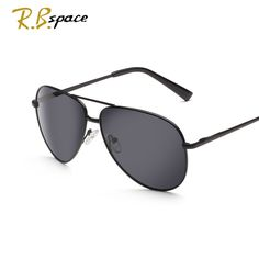 5d8f08108c Off  RBspace glasses Alloy Men s SunglassesPolarized Sunglasses Male  Driving Fishing Outdoor Eyewears Accessories sunglasses men 2016