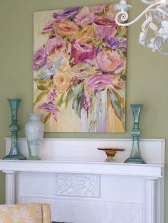 Summer Flowers in Vase by Susan Pepe
