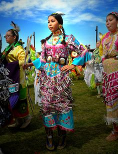 Fort Washakie jingle dress dancer