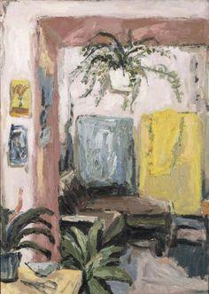 Pink Studio, 2016 - Mia Chaplin (b. 1990) oil on canvas | source: