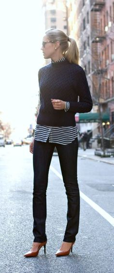"""The """"no-tuck-in-effortless"""" Outfit."""