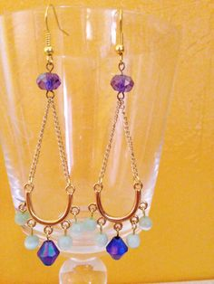 A personal favorite from my Etsy shop https://www.etsy.com/listing/234488863/gold-finished-earrings-dangle-earrings