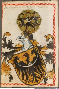 Scheibler'sches Wappenbuch Süddeutschland, um 1450 - 17. Jh. Cod.icon. 312 c  Folio 452