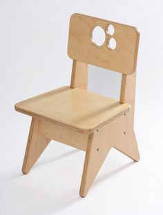 Gentil Single Wooden Chair Version 2