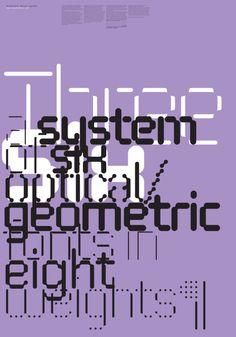 MuirMcNeil / FontFont / FF ThreeSix / Poster / 2010