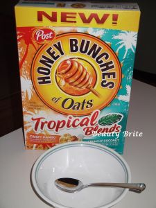 #HoneyBunchesOfOats Tropical Blends #Review #food #cereal #family #household