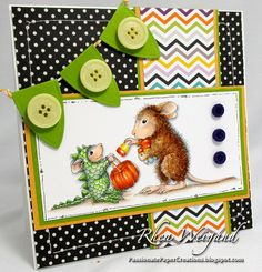 Passionate Paper Creations: Dino Treats from #Stampendous. Image ©Ellen Jareckie @House-Mouse Designs®