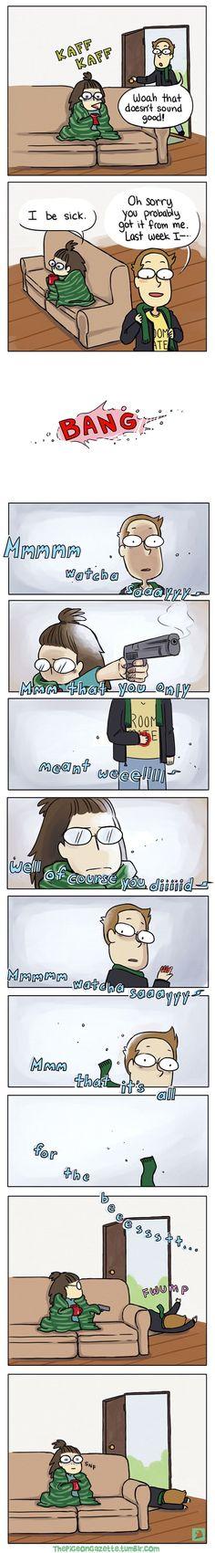 10+ Hilarious Comics For Socially Awkward People #FunnyThings