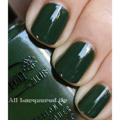 Fall 2011 Nail Polish Trend Military Greens