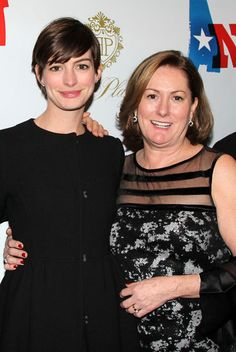 Anne Hathaway posed with her mom at the premiere of Ann in NYC on Thursday night | Get details from the night and photos