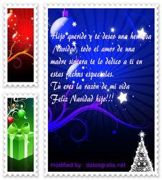 descargar gratis pensamientos con imàgenes de navidad para mi hijo querido,tarjetas con saludos de navidad para mi hijo adorado