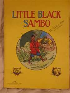 little-black-sambo...no offense intended as this was indeed a memory from childhood.