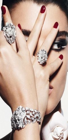 """Chanel """"Sous le Signe du Lion"""" Collection Fine Jewelry by Thomas Lagrange for Vogue"""