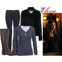 Elena Gilbert- love her style