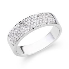 1000 ideas about pave wedding bands on