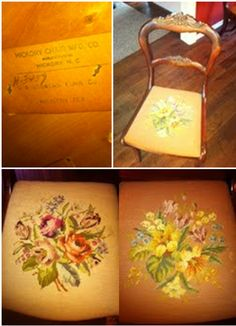 Kristen Bryan shared with @Hickory Chair that she inherited a set of 4 beautiful mahogany side chairs with needlepoint seats from her Grandmother! Timeless quality and style!