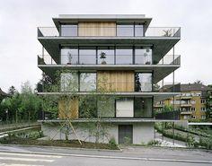 Gret Loewensberg -Hinterbergstrasse apartments, Zurich 1999....