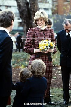 November 19, 1981: Princess Diana plant a tree in Hyde Park after lunch at the Royal Yacht Club.