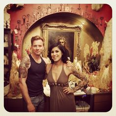 Tattooing Ewan McGregor ruled and so did he! - @thekatvond- #webstagram