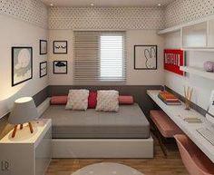 Small room design – Home Decor Interior Designs Small Room Decor, Small Room Design, Small Room Bedroom, Small Rooms, Bed Design, Bedroom Decor, House Design, Kid Bedrooms, Girl Bedroom Designs