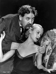 Carole Lombard and Charles Laughton in White Woman
