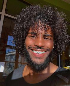 Cute Black Boys, Black Men, Art Of Beauty, Hair Beauty, Guys With Braces, Dark Skin Boys, Afro Men, Braces Colors, Brace Face