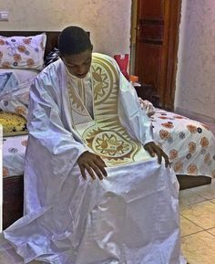 African Wear Styles For Men, African Shirts For Men, African Attire For Men, Nigerian Men Fashion, African Men Fashion, Mens Fashion, African Hats, African Dresses Men, Middlesex Textiles
