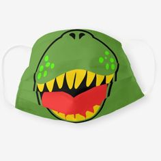 Dinosaur Mask, Dinosaur Costume, Dinosaur Crafts, Child Smile, Smile Kids, Green Monsters, Protective Mask, T Rex, Mask For Kids