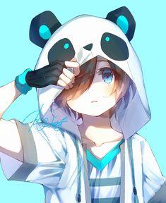 Boboiboy Anime, Cute Anime Chibi, Cute Anime Pics, Fanarts Anime, Cute Anime Boy, Anime Angel, Otaku Anime, Anime Art, Anime Wolf Girl