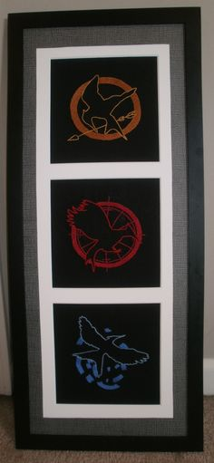 Hunger Games Crafts  (for Billy's room?)