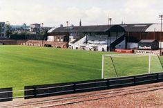 Firs Park, East Stirling in the 1980s.