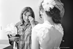 A mom sees her daughter in her wedding dress for the first time | A Joyful Athens Wedding | Blume Photography