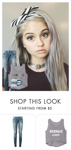 """""""ootd- jojo"""" by the-epic-awesome-anons ❤ liked on Polyvore featuring Yves Saint Laurent and Vans"""